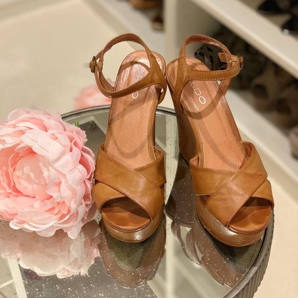 fa0b9b1c8016 Aldo Shoes   Size 37 Platform Sandals From   Poshmark